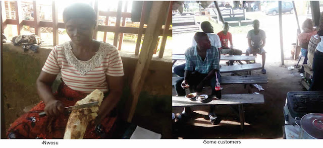 Photo: Meet mother of nine who trained five graduates with proceeds from her roasted yam business