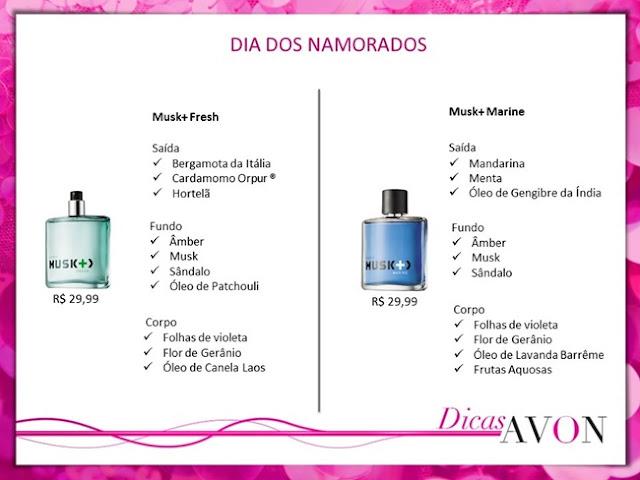 PressKit, Avon, Recebido, Dia dos Namorados, Perfume, Homens, Musk