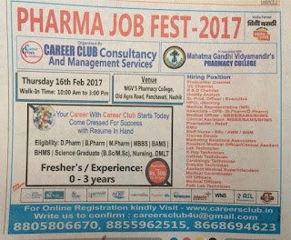 Pharma job fest