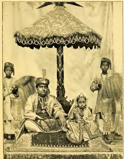Hindu Groom and his Child Bride - 19th Century