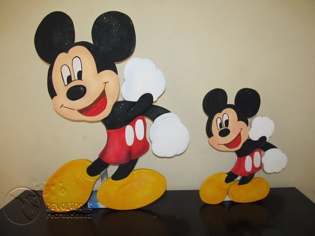 DECORACION FIESTAS INFANTILES MICKEY MOUSE 3 RECREACIONISTAS MEDELLIN