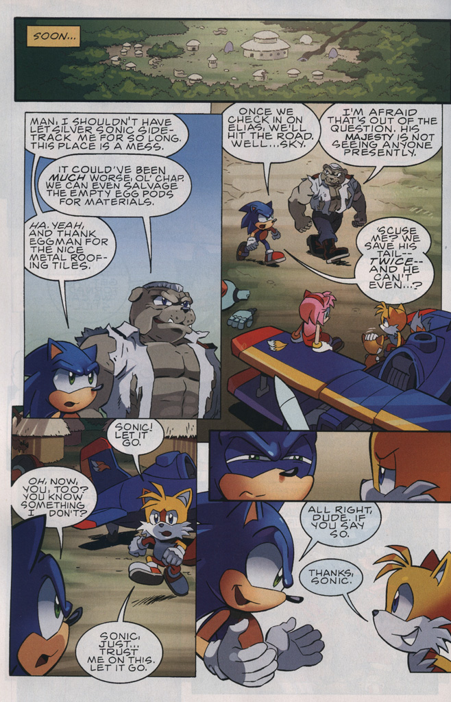 Read online Sonic The Hedgehog comic -  Issue #239 - 30