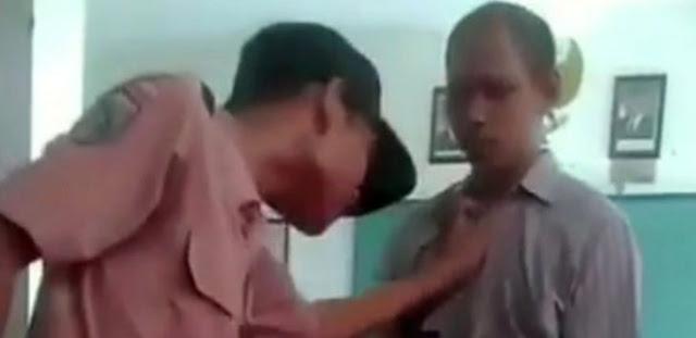 DASAR SISWA SONTOLOYO! Cekik Kera Baju Hingga Tantang Guru Berkelahi