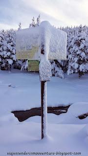 Refugio Comes de Rubió: Después de la nevada