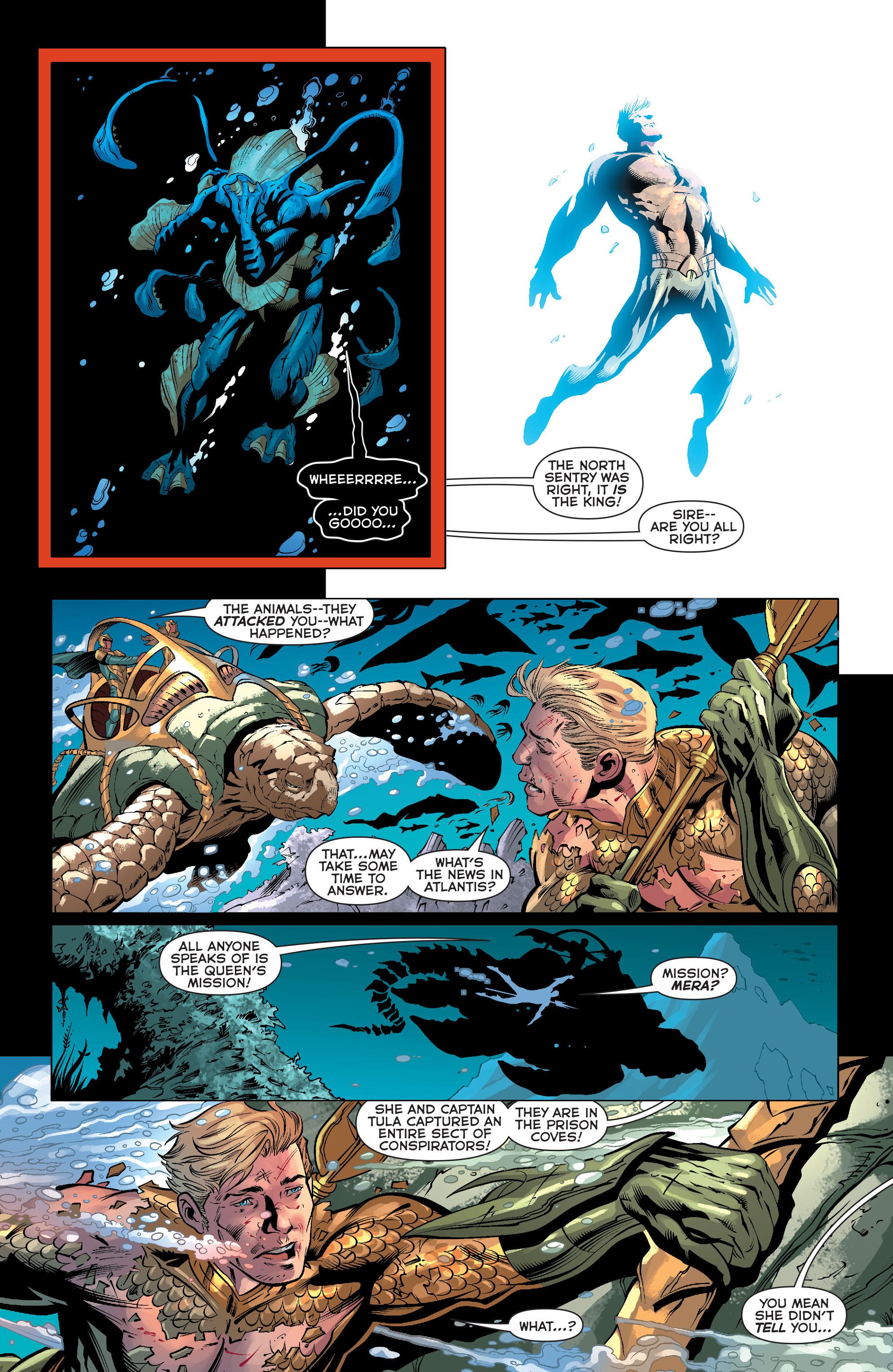 Read online Aquaman (2011) comic -  Issue #33 - 4