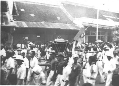 Foto perayaan cap go meh di pekalongan jaman dulu tahun 1930
