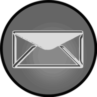 mail glowing icon