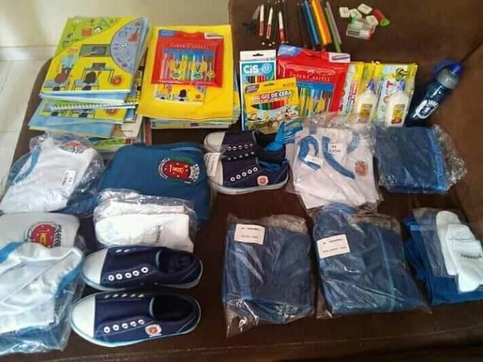 EDUCAÇÃO É PRIORIDADE: Kit escolar de primeiro mundo é distribuído pela prefeitura de Maringá, PR