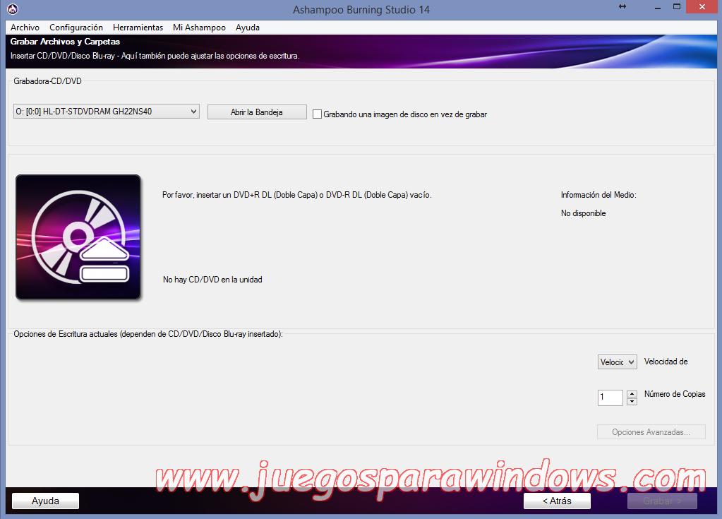 Ashampoo Burning Studio v14.0.5.10 Full PC ESPAÑOL 9