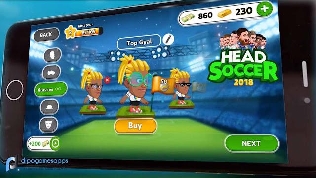 Head Soccer La Liga 2018 APK Terbaru