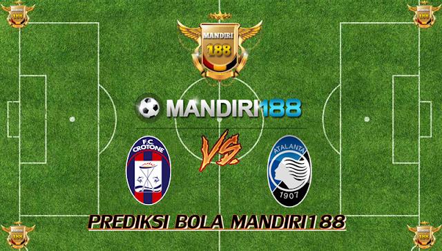 AGEN BOLA - Prediksi Crotone vs Atalanta 11 Februari 2018