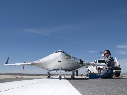 X 48 B Nasa - Top secret airplanesTop secret airplanes