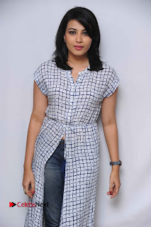 Tamil Kannada Actress Kavya Shetty Stills at Smile Please Movie Press Meet  0004.jpg