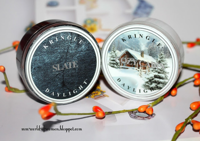 Cozy Cabin i Slate od Kringle Candle