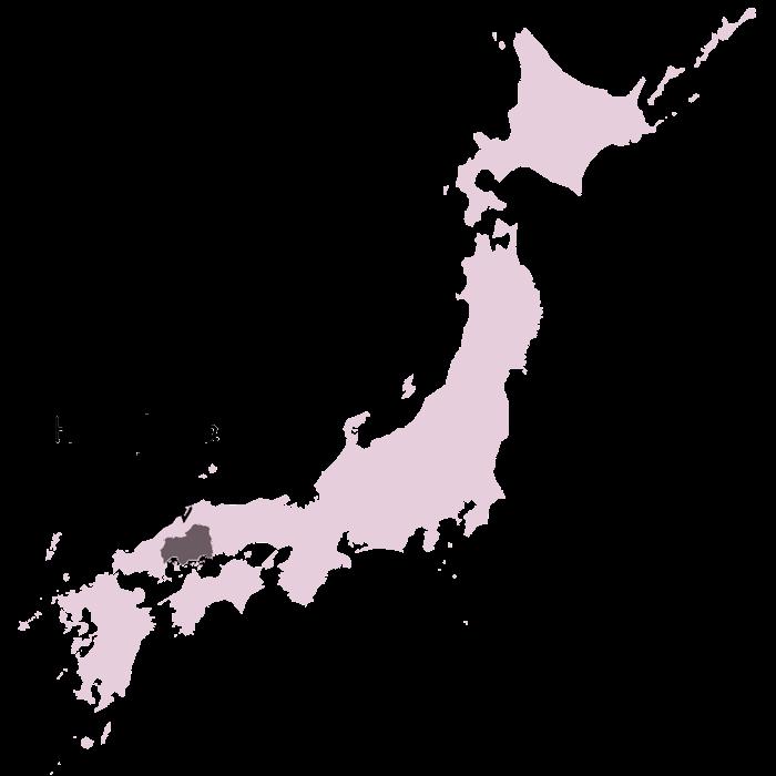 carte japon hiroshima