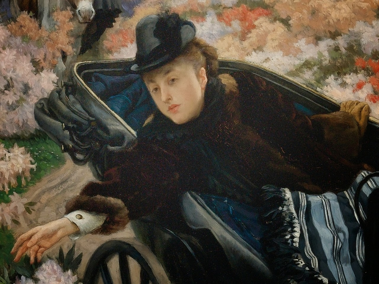 James  Tissot     The  Morning  Ride  ()