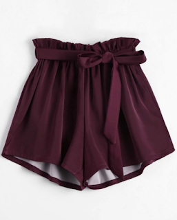short bordeaux