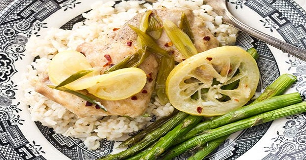 Lemon Chili Chicken In Parchment Paper Recipe