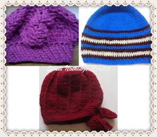 free crochet cap pattern, free crochet beret pattern, free crochet hat pattern