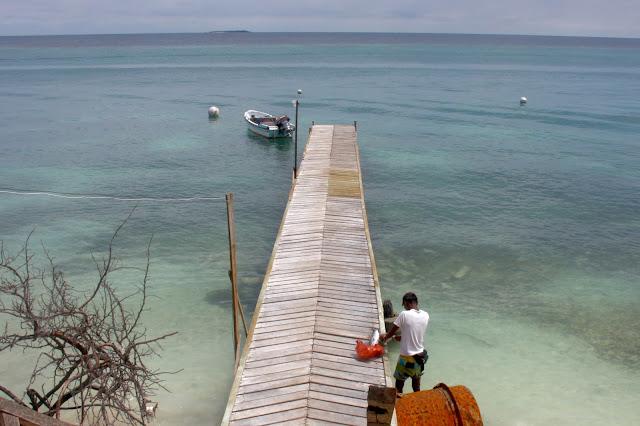 Chegada à Isla Grande
