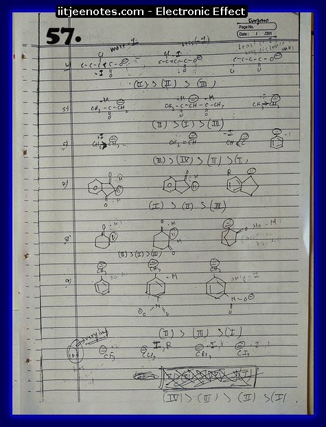 Electronic Effect chemistry12