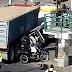 Torton aplasta a mototaxista en Chimalhuacán