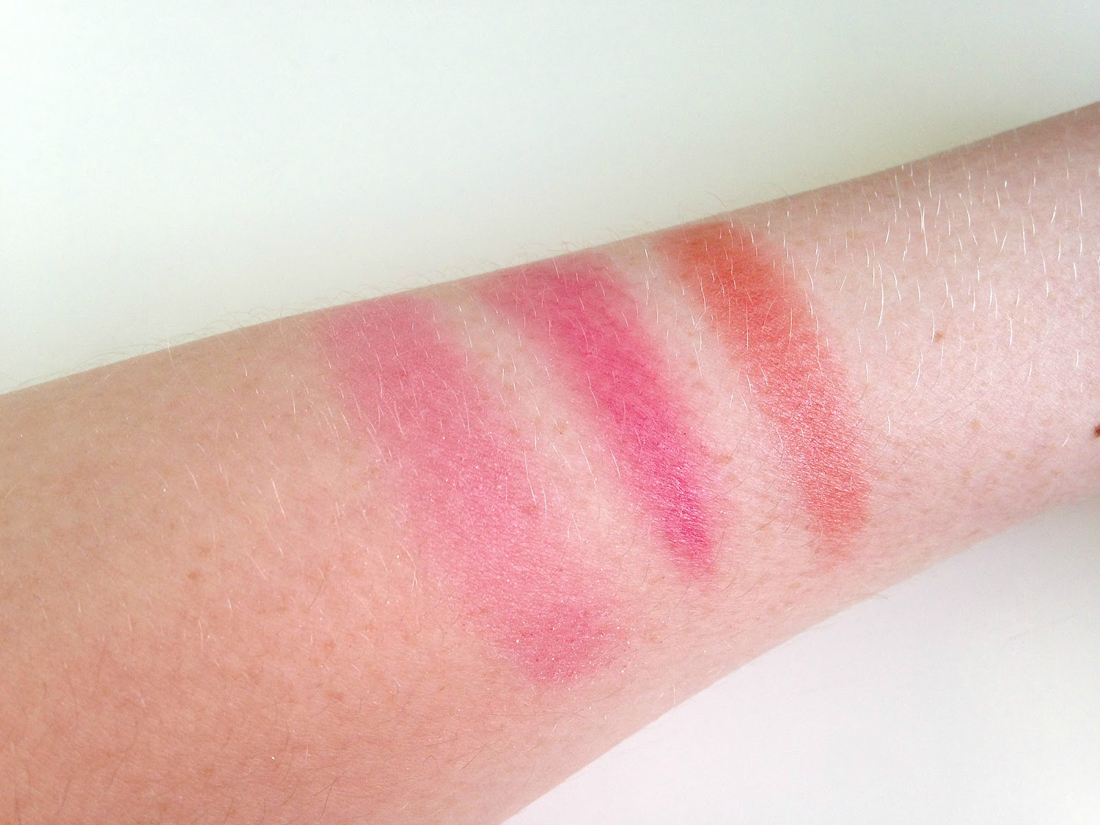 Sleek Blush by 3 Pink Lemonade Swatches