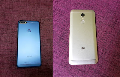 Honor 7C vs Xiaomi Redmi Note 5