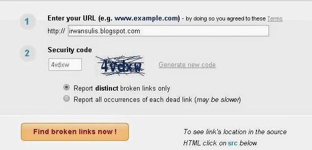 Broken links or dead links on a weblog volition harm in addition to interfere amongst the character of our blo How to Check Broken Links