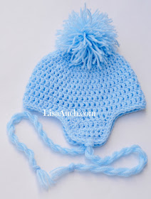 baby hat pattern, baby hat patterns, baby patterns, crochet baby hat pattern, free crochet hat patterns, free crochet patterns, baby hat with earflaps,