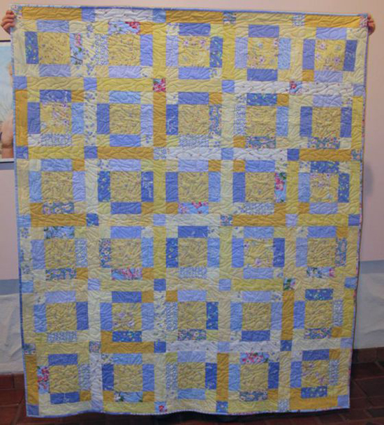 Sunshine and Shadow Quilt designed by Elizabeth Eastmond of Occasional Piece Quilt
