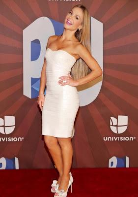 Fotos Ximena Córdoba vestido blanco