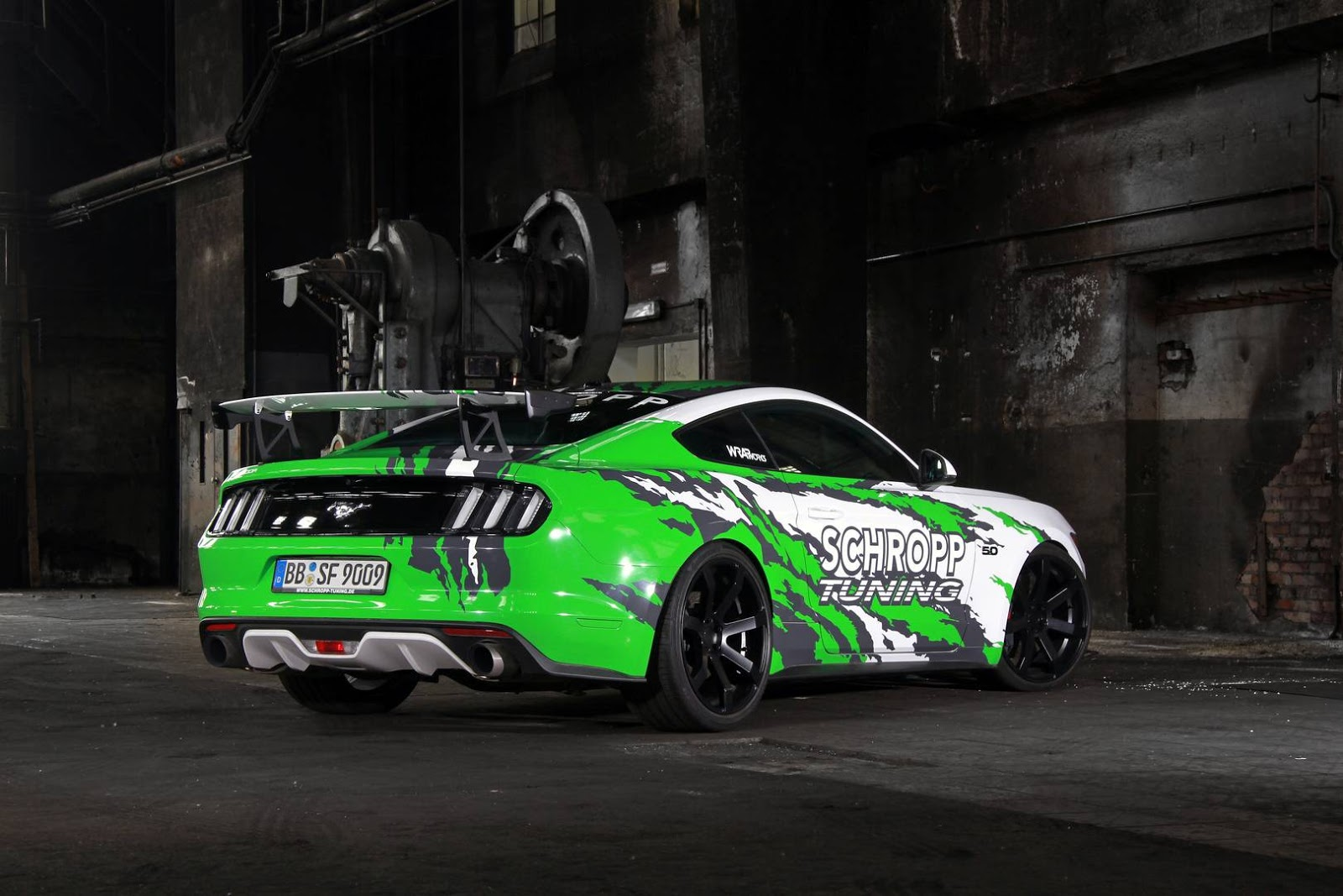 schropp tuning creates 807 hp ford mustang. Black Bedroom Furniture Sets. Home Design Ideas