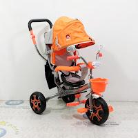 sepeda roda tiga exotic et8808 tricycle