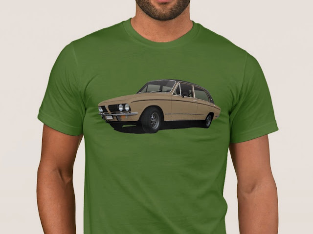 Triumph Dolomite classic cars t-shirt