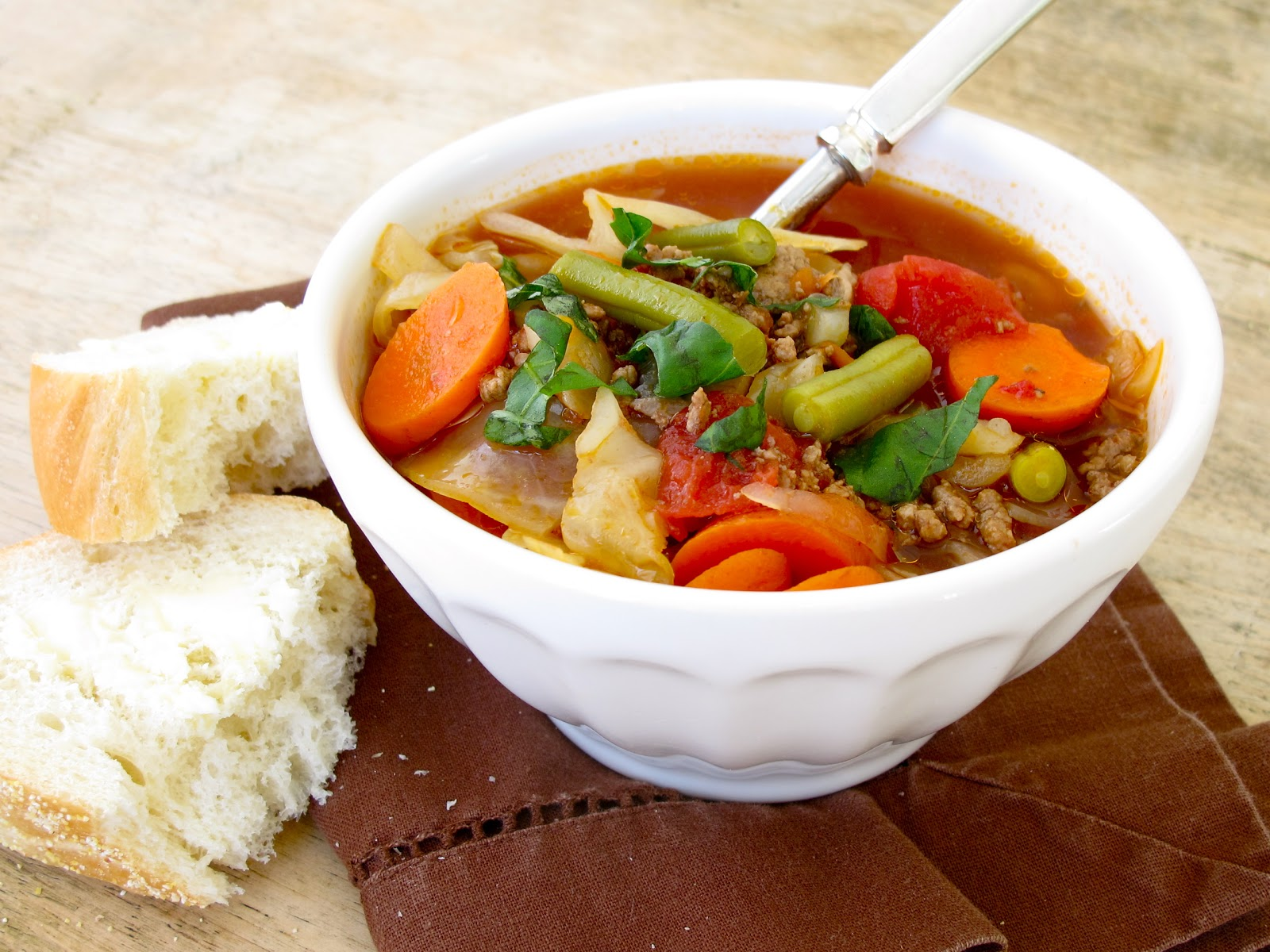 Jenny Steffens Hobick: Vegetable Beef Soup Recipe | Quick ...