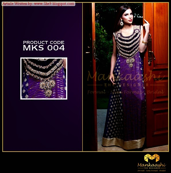 Mankaashi embroidered and Designer clothing for Formal Wear