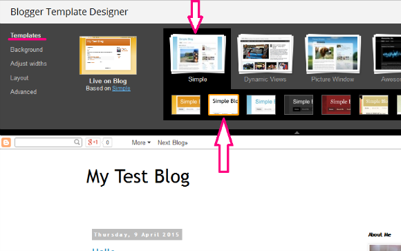 How to create a blog, write a blog post and add a sidebar widget in blogger