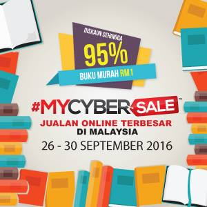 Cabaran Affiliate Mycybersale Bookcafe Dari 26 Hingga 30 September 2016