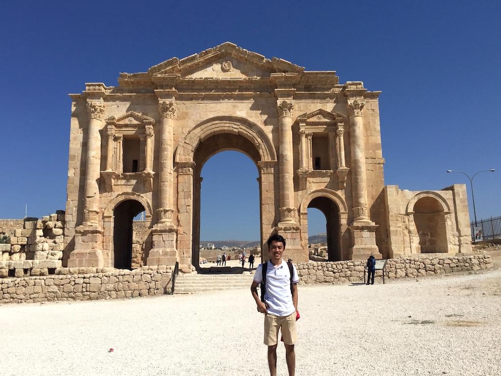 Liburan ke Jordan (Jerash dan Amman) - South Gate