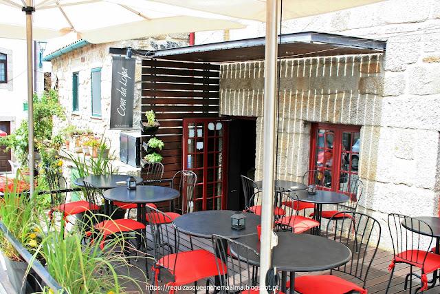 Restaurante Cova da Lapa aldeia de Linhares da Beira