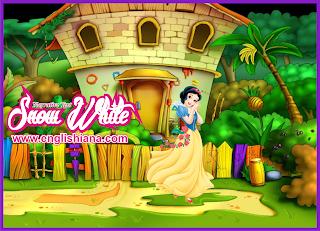 Contoh Narrative Text Snow White dan Terjemahannya