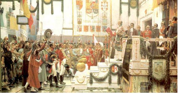 Resultado de imagen para 1808 Octubre. Reconocimiento provisional Junta de Sevilla