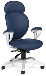 Global Total Office Azeo Chair in Leather