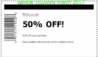 Overstock coupons for march 2017
