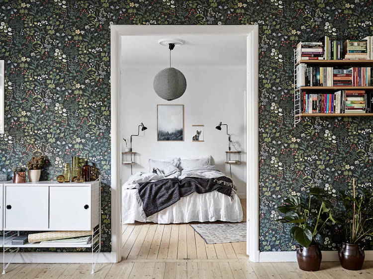 Get the look: A Swedish Home with a Floral Touch!