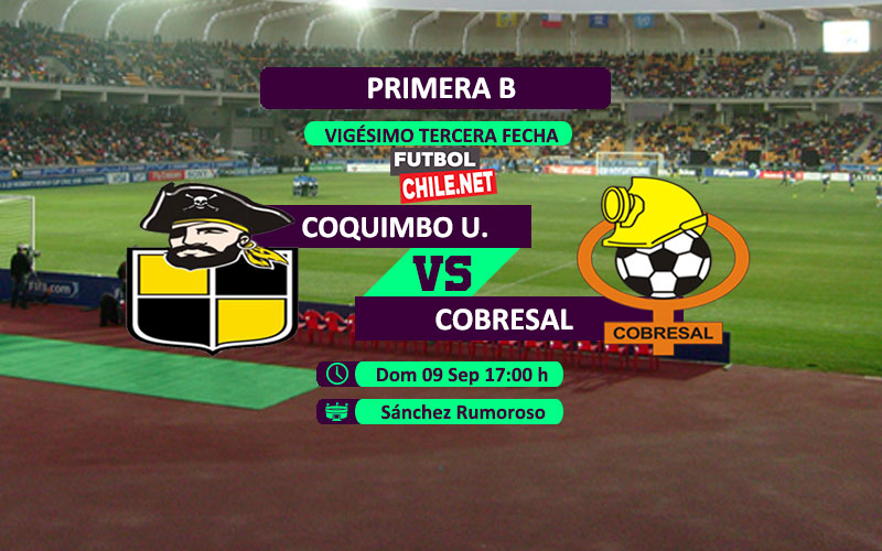 PREVIA: Coquimbo Unido vs Cobresal