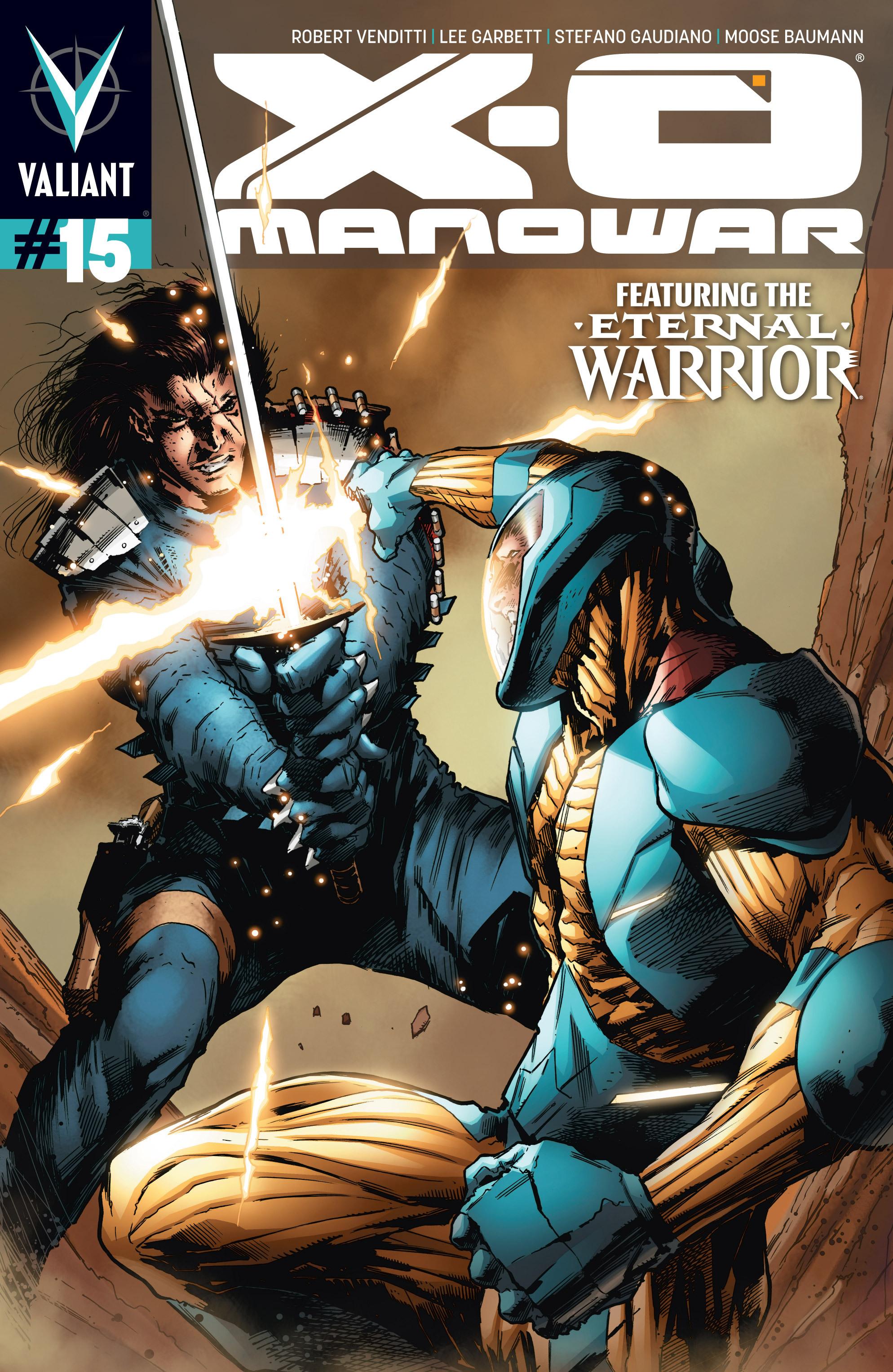 X-O Manowar (2012) 15 Page 1