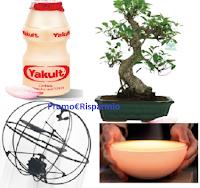 Logo ''Vinci la scienza, vivi la magia'' : con Yakult vinci gratis Bonsai, Smart Lamp e un Drone elicottero