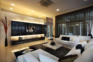 diseño de sala grande